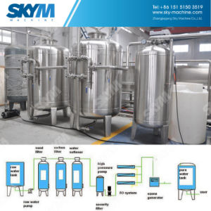 Industrial Reverse Osmosis Water Filtration System for Purified Water Production pictures & photos