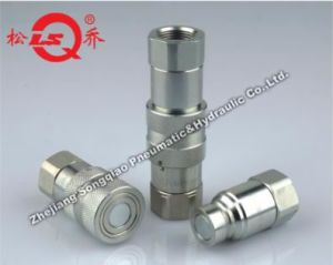 Lsq-Ptf Flat Face Type Hydraulic Qucik Coupling (steel) pictures & photos