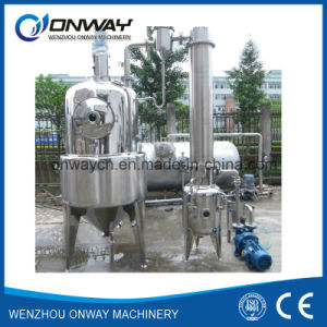 Stainless Steel Milk Tomato Ketchup Apple Juice Concentrate Vacuum Concentrator pictures & photos