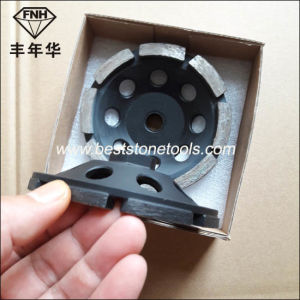Cw-5 Metal Bond Diamond Single Grinding Cup Wheel for Stone pictures & photos