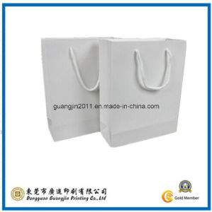 White Kraft Paper Packaging Bag (GJ-Bag434) pictures & photos