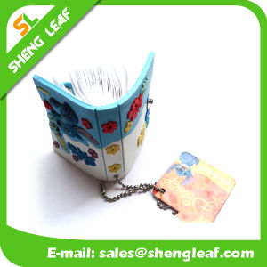 Fashion Custom Promotion PVC Notebook Keychain pictures & photos