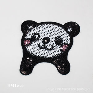 Badget Bag Beaded Patch, Garment Sewing Applique with Beads, Cartoon Embroidery pictures & photos