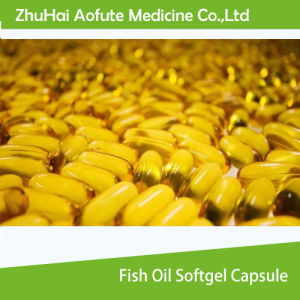 Fish Oil Softgel Capsule pictures & photos