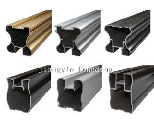 Golden Aluminium Profiles for Cabinet Frame Materials pictures & photos