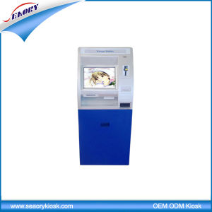 Customized Touch Screen Self-Service Terminal with Coin Acceptor Kiosk pictures & photos