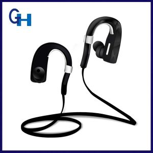 V4.1 Wireless Sweatproof Rotatable Earhook Blue Tooth Headphones with Mic