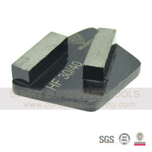 Wedgy Shape Diamond Grinding Disc for Concrete 16# pictures & photos