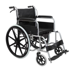 Pl-807D Manual 2.0mm Perfect Aluminum Alloy Chair Frame Wheel Chairs pictures & photos
