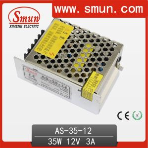 35W12VDC 3A Switching Power Supply Small Size with CE RoHS 2 Year Warranty pictures & photos