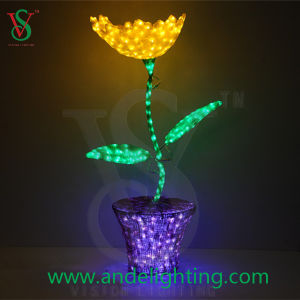 3D LED Motif Light Artificial Flower Sunflower Light pictures & photos