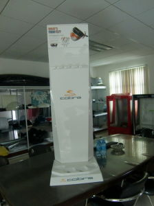 Vacuum Forming Golf Display Stand
