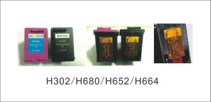 Remanufactured Ink Cartridge 680XL Bk (F6V27AA) , 680XL Color (F6V26AA) for HP Printer pictures & photos