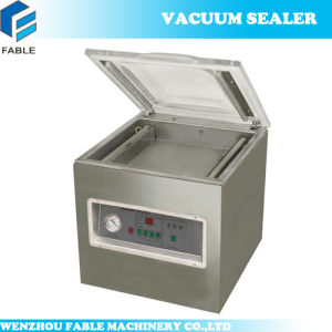 Table Top Stainless Steel Touch Panel Chamber Sealer (DZ500A) pictures & photos