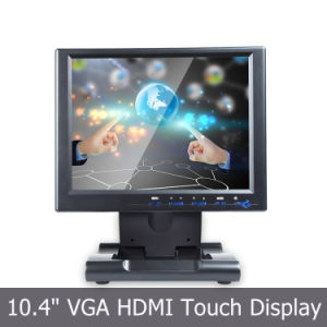 "TFT Display High Resolution with 10.4"" Industrial Touch Monitor pictures & photos"