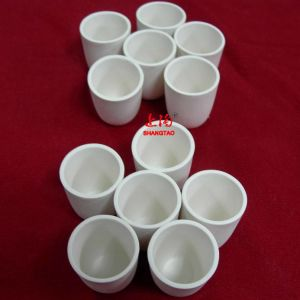 Small Al2O3 Alumina Ceramic Crucibles for Tg, DTG and Dta Analyses pictures & photos
