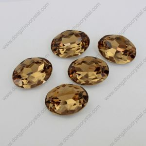 Jinhua Manufacturer Wholesale Crystal Folied Stone for Jewelry Accessories pictures & photos