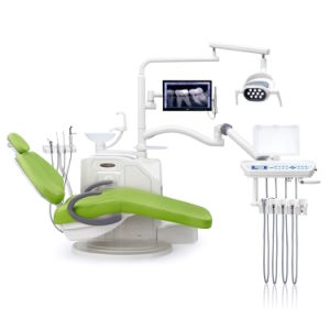 High Quality Ce Approved Dental Unit with LED Light pictures & photos