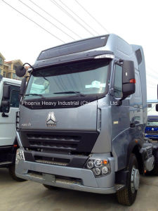 420HP Sinotruk HOWO A7 Tractor Head 6X4 pictures & photos