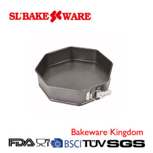 Octagonal Springform Carbon Steel Nonstick Bakeware (SL-Bakeware) pictures & photos