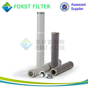 Forst Replace Dry Filtration PU Top Bottom Pleated Filter Bag pictures & photos