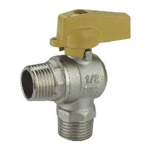 (HE-1137) Brass Ball Valve Pn30 with Wing Handle for Water, Oil