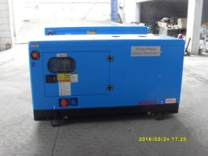 Kusing 15kVA Diesel Generator Silent Type Blue Color pictures & photos