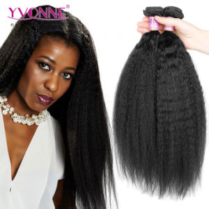 Wholesale Kinky Straight Weave Brazilian Virgin Hair pictures & photos