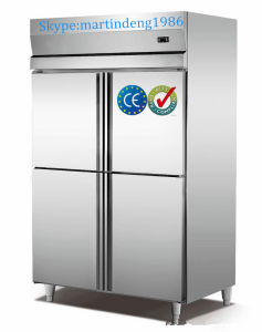Stainless Steel Kitchen Refrigerator with Two Doors pictures & photos