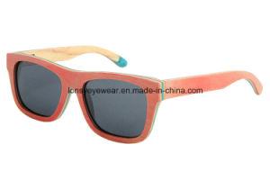 Hot Selling Handmade Wood Eyewear Sunglass (LS2003-C9)