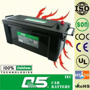 JIS-165G51 12V165AH for Storage Maintenance Free Car Battery pictures & photos