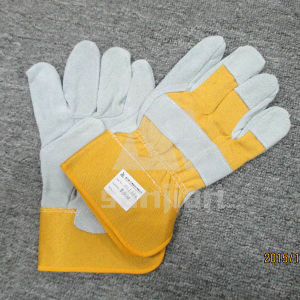 Spell Leather Grad Bc Welding Safety Glove pictures & photos