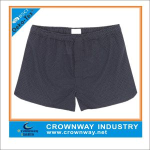 Mens Woven Cotton Boxers Short with Check Partern pictures & photos