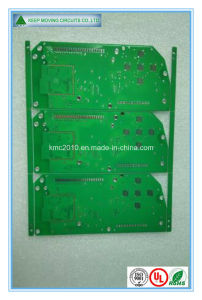Routing Double Sided HASL PCB with Green Solder Mask pictures & photos