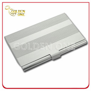 Luxury Design Pattern Metal Business Name Card Holder pictures & photos
