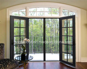 Aluminum Grille French Door Wholesale pictures & photos