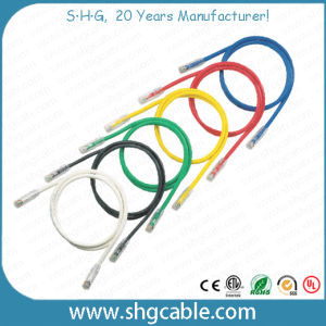Low Cost Network Cat5e UTP Patch Cord Cable pictures & photos