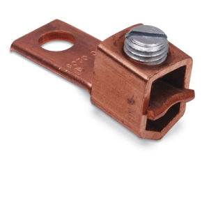 Copper Single-Conductor, One Hole Mount (Straight) for Conductor Range 2 Str. -4/0 Str. pictures & photos
