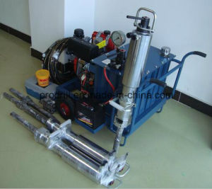 Gas Powered Hydraulic Splitter Demolition of Concrete and Rock pictures & photos