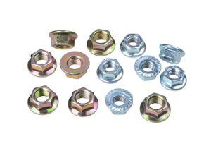 Carbon Steel Hex Nut Nylon Flange Nut pictures & photos