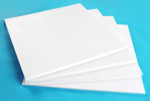 PTFE Sheet, Teflon Sheet Made with 100% Virgin PTFE
