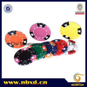 14G 3-Tone Crown Dice Clay Poker Chip (SY-E06) pictures & photos
