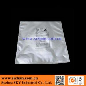 ESD Plastic Moisture Zipper Bag for Wafer Packing pictures & photos