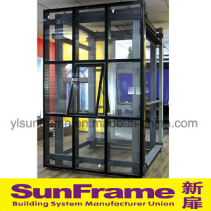 Aluminium Glazing Curtain Wall with Great Waterproof System pictures & photos