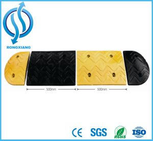 Rubber Speed Ramp with Yellow Reflective Part pictures & photos