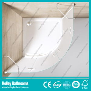 Hinger Door Ground Glass Circular Double Doors Selling Simple Cubicle (SE712M) pictures & photos