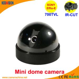 Sony CCD 700tvl Miniature Dome Security CCTV Camera pictures & photos