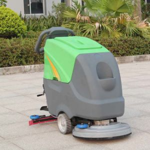 Chinese Walk Behind Sweeper Supermarket Floor Sweeper (DQX5/5A) pictures & photos