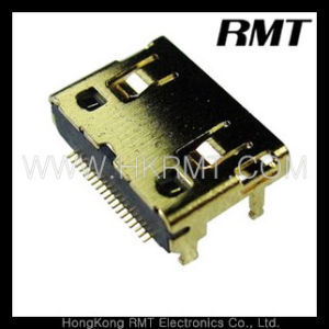 HDMI Connector (R/A SMT, C Type) pictures & photos