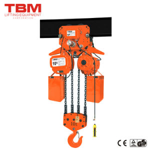 Tbm-Shk-Am 10 Ton Electric Chain Hoist, 5 Ton Electric Chain Hoist with Electric Trolley pictures & photos